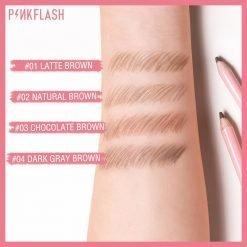E02 – PINKFLASH Waterproof Eyebrow Pencil