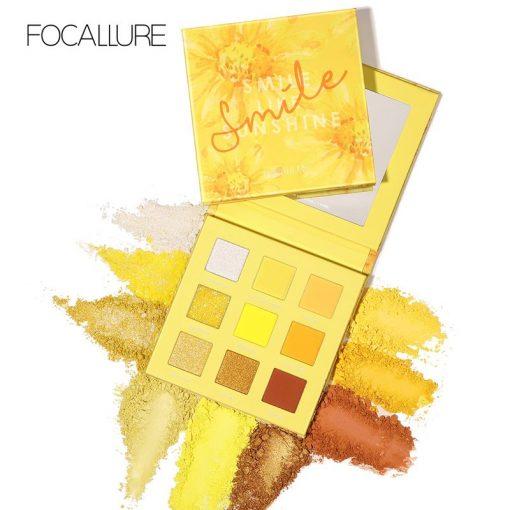 FA 105 – Focallure 09 Color Eyeshadow Palette – Smile Like Sunshine
