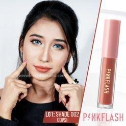 Shade O02 - PinkFlash Lipstick L01