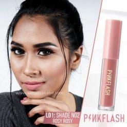 Shade N02 - PinkFlash Lipstick L01