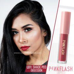 Shade P03 - PinkFlash Lipstick L01