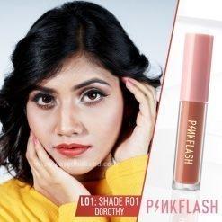 Shade R01 - PinkFlash Lipstick L01
