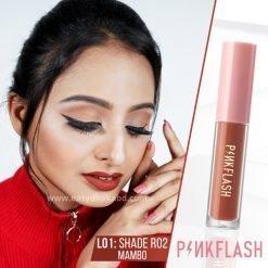 Shade R02 - PinkFlash Lipstick L01