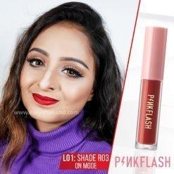 Shade R03 - PinkFlash Lipstick L01
