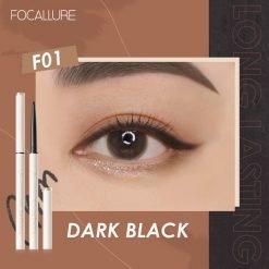 Focallure Perfectly Defined Gel Eyeliner Shade 1