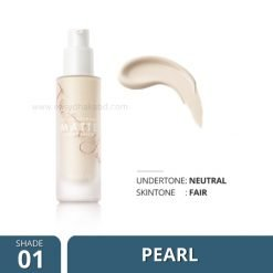 Shade-01 Focallure COVERMAX Full Coverage Foundation