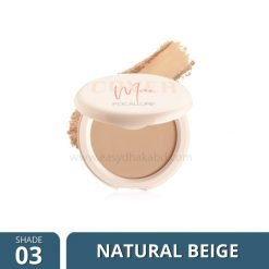 FA 155 – Focallure COVERMAX Two-Way-Cake Pressed Powder Shade 3