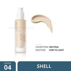 Shade-04 Focallure COVERMAX Full Coverage Foundation