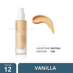 Shade-12 Focallure COVERMAX Full Coverage Foundation