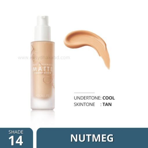 Shade-14 Focallure COVERMAX Full Coverage Foundation