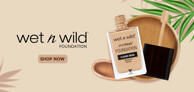Wet N Wild Foundation Block Banner