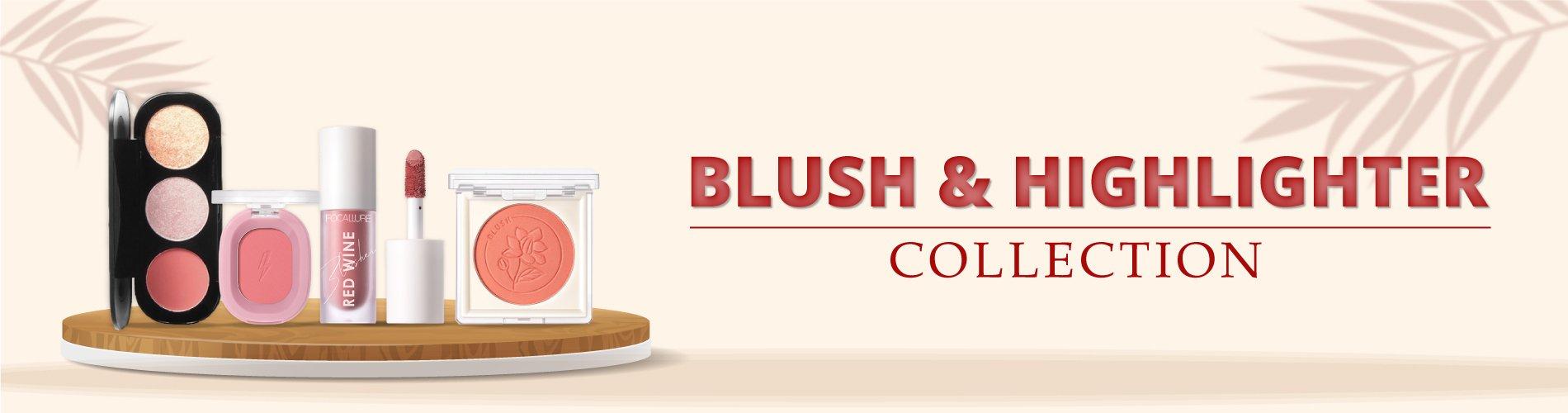Blush and Highlighter Banner