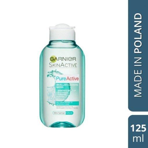 Garnier Pure Active Micellar Clear Water – 125 ml