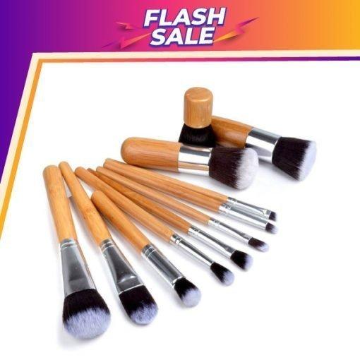 Bamboo Brush Set – 11 Pcs