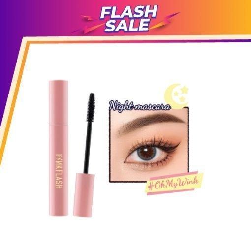 E08 – PINKFLASH Waterproof Night Mascara (7ml)
