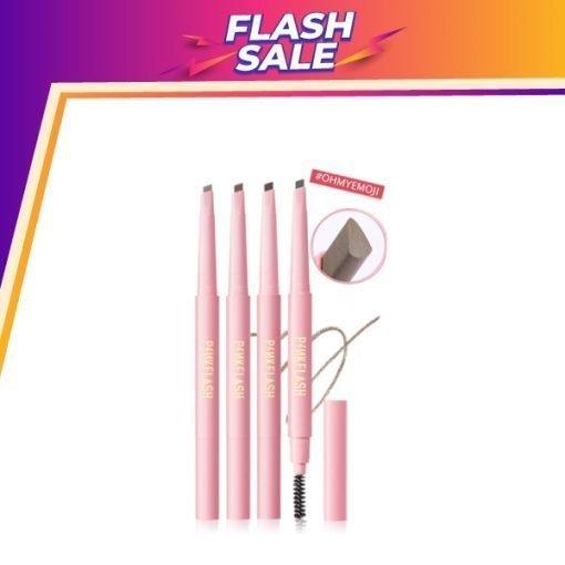 E09 – PINK FLASH Waterproof Auto Eyebrow Pencil
