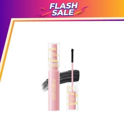 E10-PinkFlash Lengthening Waterproof Micro Brush Mascara