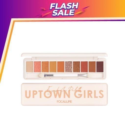 FA 158 – Focallure UPTOWN GIRLS Eyeshadow Palette – 03 SUNFLOWER AT SUNSET