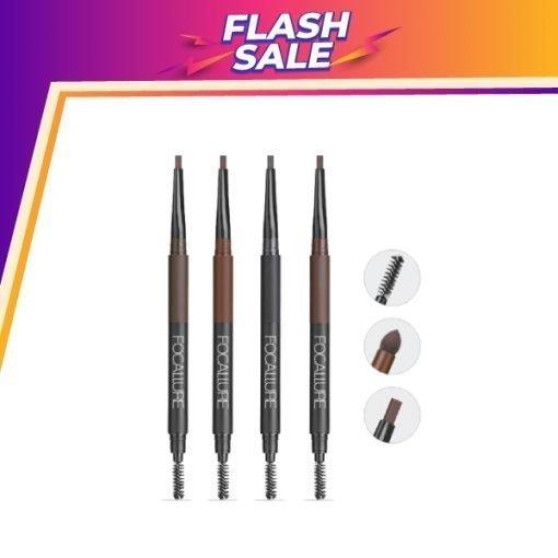 FA 64 – Focallure Waterproof 3 in 1 Auto Eyebrow Pencil