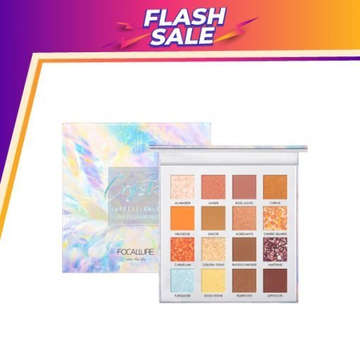 FA 88 – Focallure 16 Color Eyeshadow Palette – Crystal