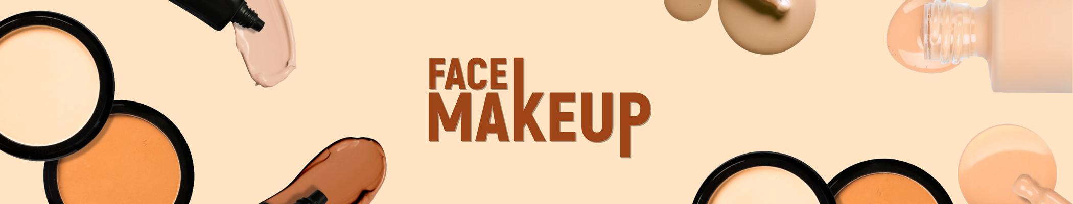 Face Makeup Banner